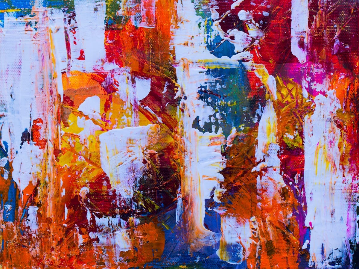 Kom i gang med abstrakte malerier